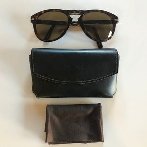 Persol Polarized Totortoise Folding Sunglasses